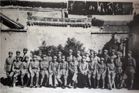 参加井冈山斗争的部分同志,1938年在延安合影